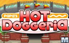 Papa's Hot Doggeria - ugotuj hotdogi