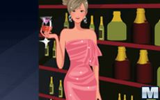 Gorgeous Party Girl Dressup