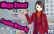Mega Street Fashion Dress Up Game