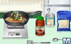 Gotuj z Sarą: Hamburger z Pizzą