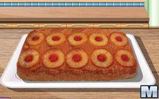 Gotuj z Sarą: ciasto ananasowe