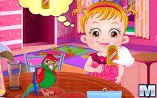 Baby Hazel Parrot Cake