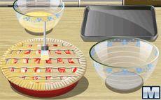 Gotuj z Sara: Rhubarb Pie