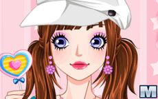 Candy Girl Make Up Game