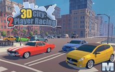 3D City 2 Player Racing