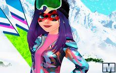 Ladybug Ski Time