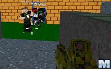 Blocky Combat Swat: Killing Zombie