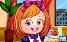 Baby Hazel Waitress Dress Up