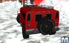 Snow Jeep Simulator