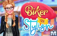 Biker Vs Stylish