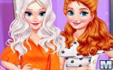 Eliza & Annie Puff Sleeve Dress Up